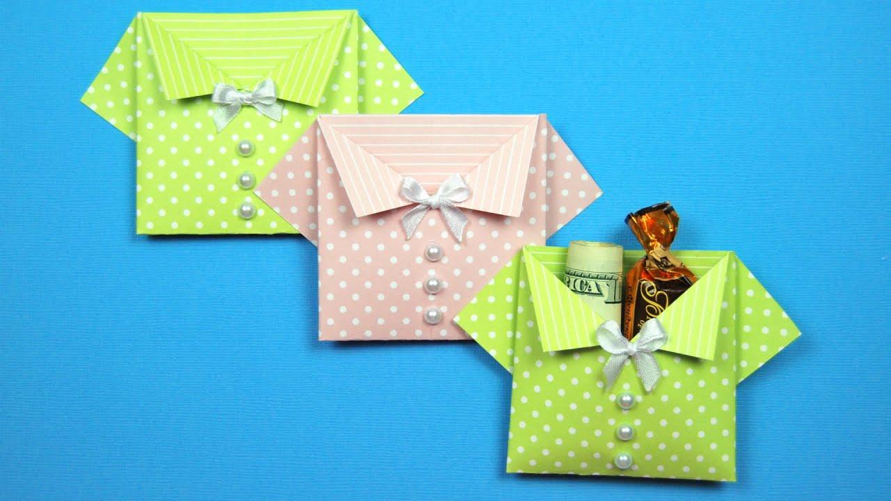 Бумажные кармашки своими руками