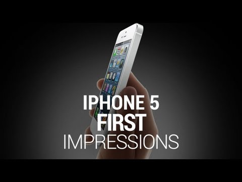 iPhone 5 First Impressions Music Videos