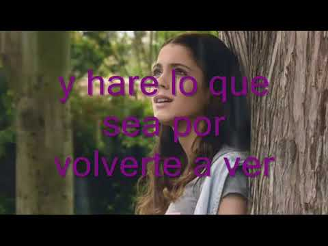 Violetta - Te esperare - Letra completa