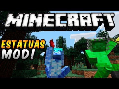 Minecraft - LAS ESTATUAS DEFORMES MOD (Personaliza y ríe! ) - ESPAÑOL TUTORIAL