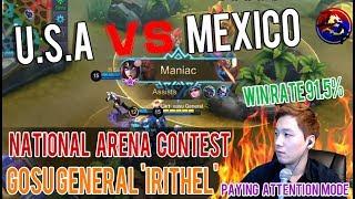 [Irithel] National Arena Contest USA VS Mexico