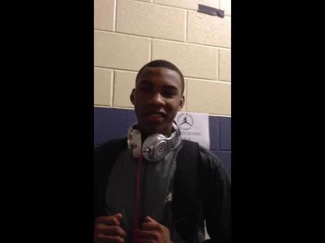 Crazie Talk: Rasheed Sulaimon at the Jordan Brand Classic 2012