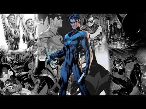 История персонажа. Дик Грейсон (Робин, Найтвинг, Бэтмен) часть 1