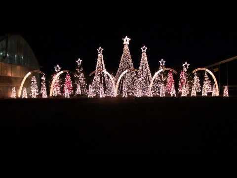 Amazing Grace Techno - Synchronized Christmas Light Show to Music Music Videos
