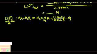 Experiment 14 (Spectroscopy of the Cobalt(II) Ion)