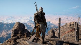 Assassin's Creed: Origins - Black Desert - Open World Free Roam Gameplay (PC HD) [1080p60FPS]
