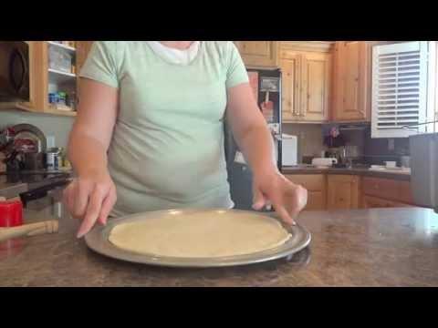 Pesto Pizza Crust