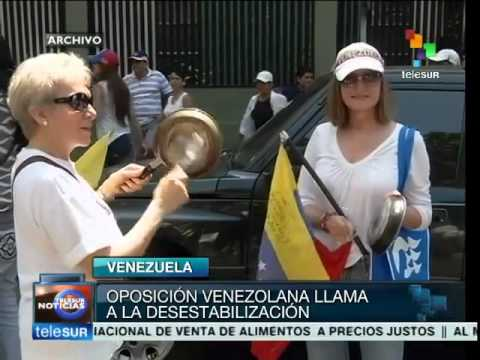 Venezuelan opposition inspired by anti-Allende protest tactics
