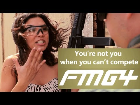 Airsoft GI - FMG418 - You're Not You  When You Can't Compete - Snickers Commercial Spoof