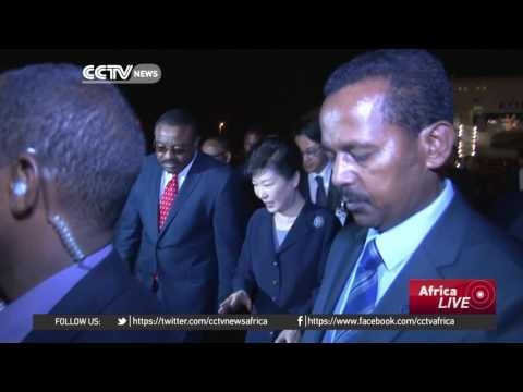South Korean President Park Geun-hye to address the AU in Addis Ababa