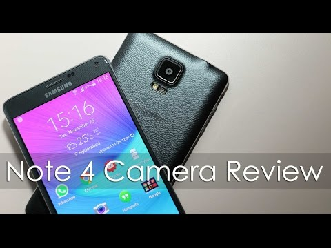 Samsung Galaxy Note 4 Camera Review (with Sample Shots) video