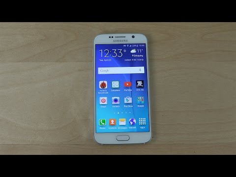 Samsung Galaxy S6 Lock Screen Customization Options - Review (4K)