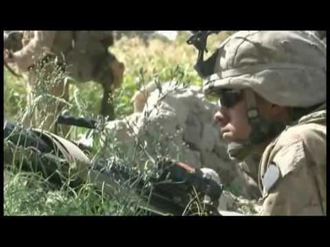 Afghanistan War Footage, Marines in Afghanistan.