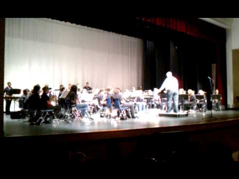McConnell Middle School 7th grade band Allstar