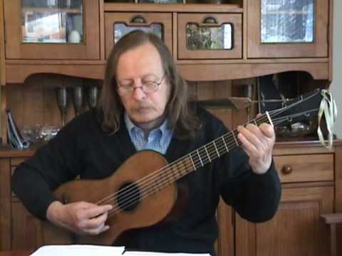 Matteo Carcassi - Waltz opus 59 n°2 - Romantic Guitar