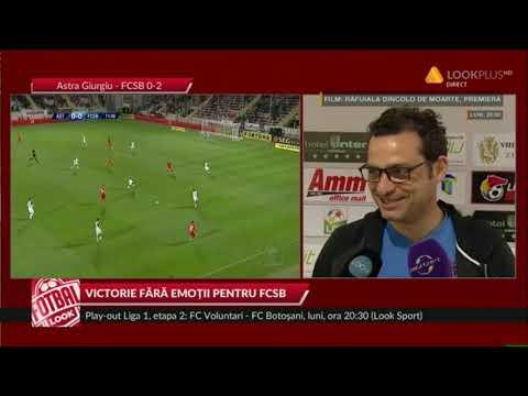 Astra - FCSB 0-2, ce a declarat Teja dupa meci / Liga 1, etapa 2 play-off, 2018-2019