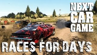 Next Car Game | RACES FOR DAYS | Steam Early Access Alpha Version
