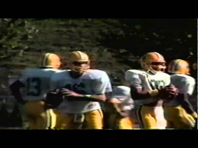 Highlights and interviews from the Oregon-Utah game 9-21-1991