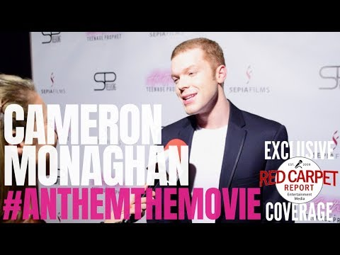 Cameron Monaghan Interviewed At Premiere Of Anthem Of A Teenage Prophet #anthemthemovie #NowPlaying