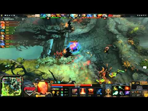 Invasion vs 5eva Game 3  joinDOTA MLG Pro League Season 2  Durkadota Scantzor