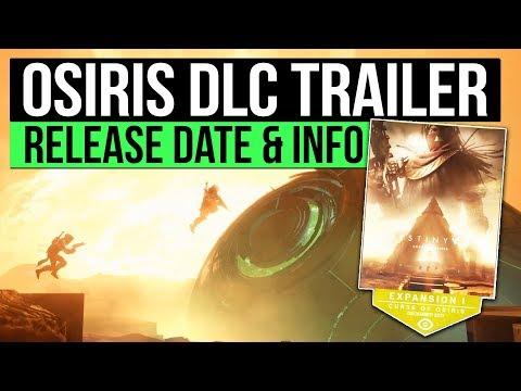 Destiny 2 | CURSE OF OSIRIS TRAILER! - Release Date, Cinematic Trailer & New Details Revealed!