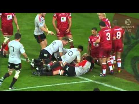 Reds v Crusaders tries Super Rugby final 2011