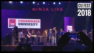 NINJA | Live Concert | Cu Fest 2018 | Chandigarh University | Akshat Bhargava