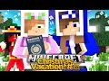 Minecraft Christmas Vacation : STEALING RAMONAS PASSPORT! #1 w Little Kelly & Little Carly