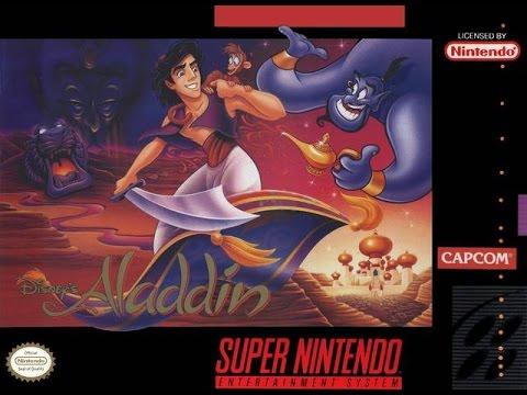 Um Classico - Aladdin (Super Nintendo) Nostalgia