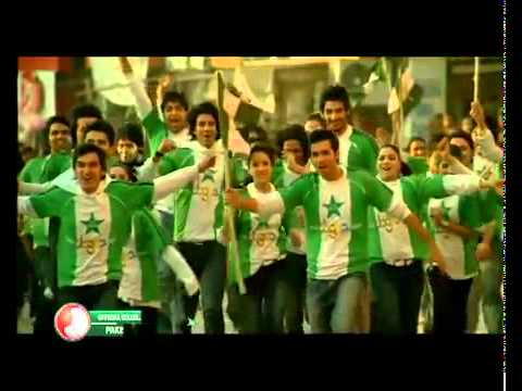 Pakistan's Official Worldcup Song 2011 - Jazba video