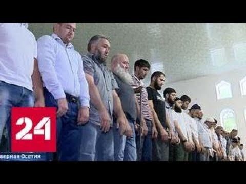 Сотни верующих отправлюсь в хадж от центральной мечети в Кизляре