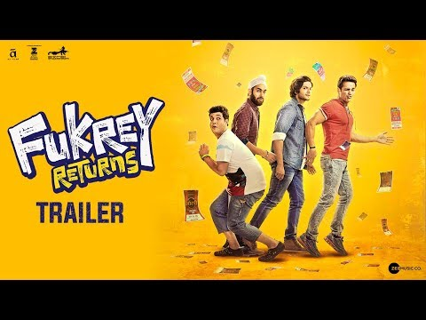 Fukrey Returns Official Trailer