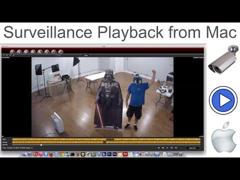 Mac CCTV DVR Software Recorded Video Surveillance Playback & Export