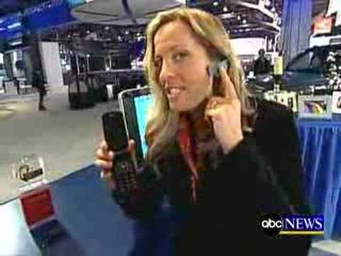 Jawbone Bluetooth Headset on Good Morning America