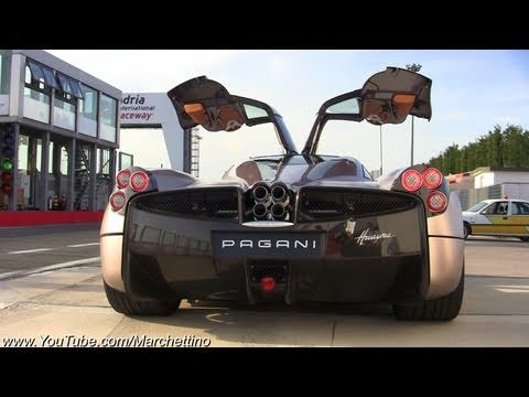 Pagani Huayra SOUND - Start and Rev
