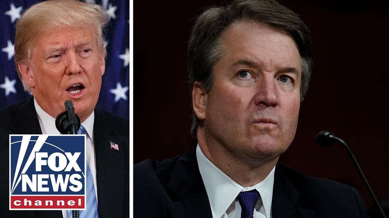 Trump praises Kavanaugh's testimony on Twitter
