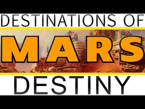 Destinations of Destiny: Mars! Dust Palace, Dead Forests, Exclusion Zone & More! Destiny News
