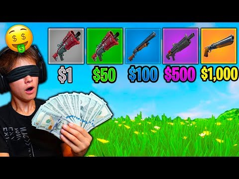 GUESS THE GUN SOUND *MONEY* CHALLENGE in Fortnite Battle Royale (IMPOSSIBLE)