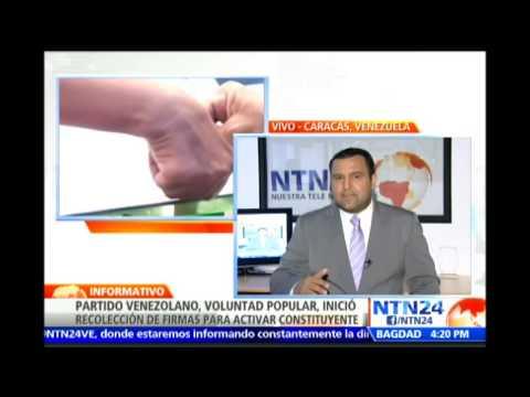 Voluntad Popular inicia recolección de firmas para activar Asamblea Nacional Constituyente en Vzla