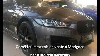 Jaguar xe occasion visible à Merignac présentée par Auto real bordeaux