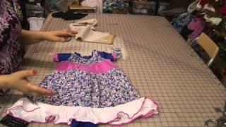 4 tier dress