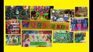 Wonder Kids Nursery School | Art And Craft Exhibition | Mumbai