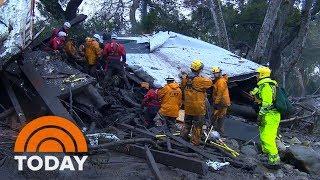 Death Toll Rises To 18, 7 Still Missing After Devastating California Mudslides   TODAY
