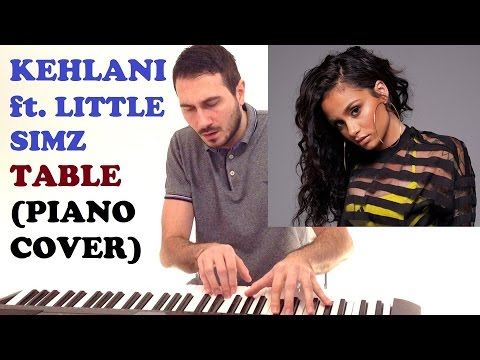 Kehlani ft. Little Simz - Table (Instrumental Piano Cover )