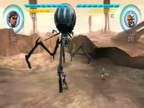 Star Wars The Clone Wars Psp