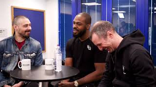 DAN HARDY INTERVIEWS JON JONES WITH ADAM CATTERALL, POST OPEN MATS SHOW.