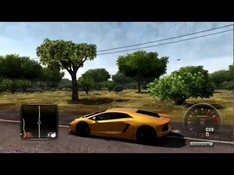 Test Drive Unlimited 2 - Lamborghini Aventador LP-700 Gameplay