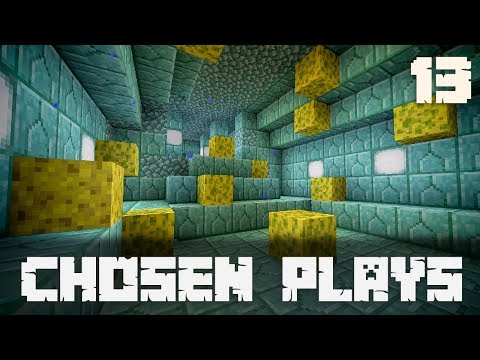 Chosen Plays Minecraft 1.13 Ep. 13 House Build Timelapse + Ocean Temple Clearing