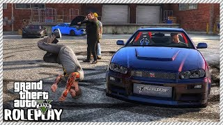 GTA 5 Roleplay - Guy Lost Control Drifting & Hit Me with Car | RedlineRP #377