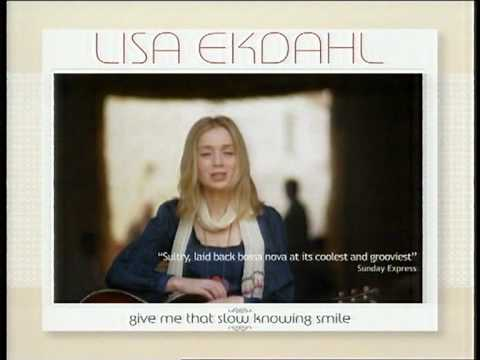LISA EKDAHL give me that slow knowing smile Album Promo